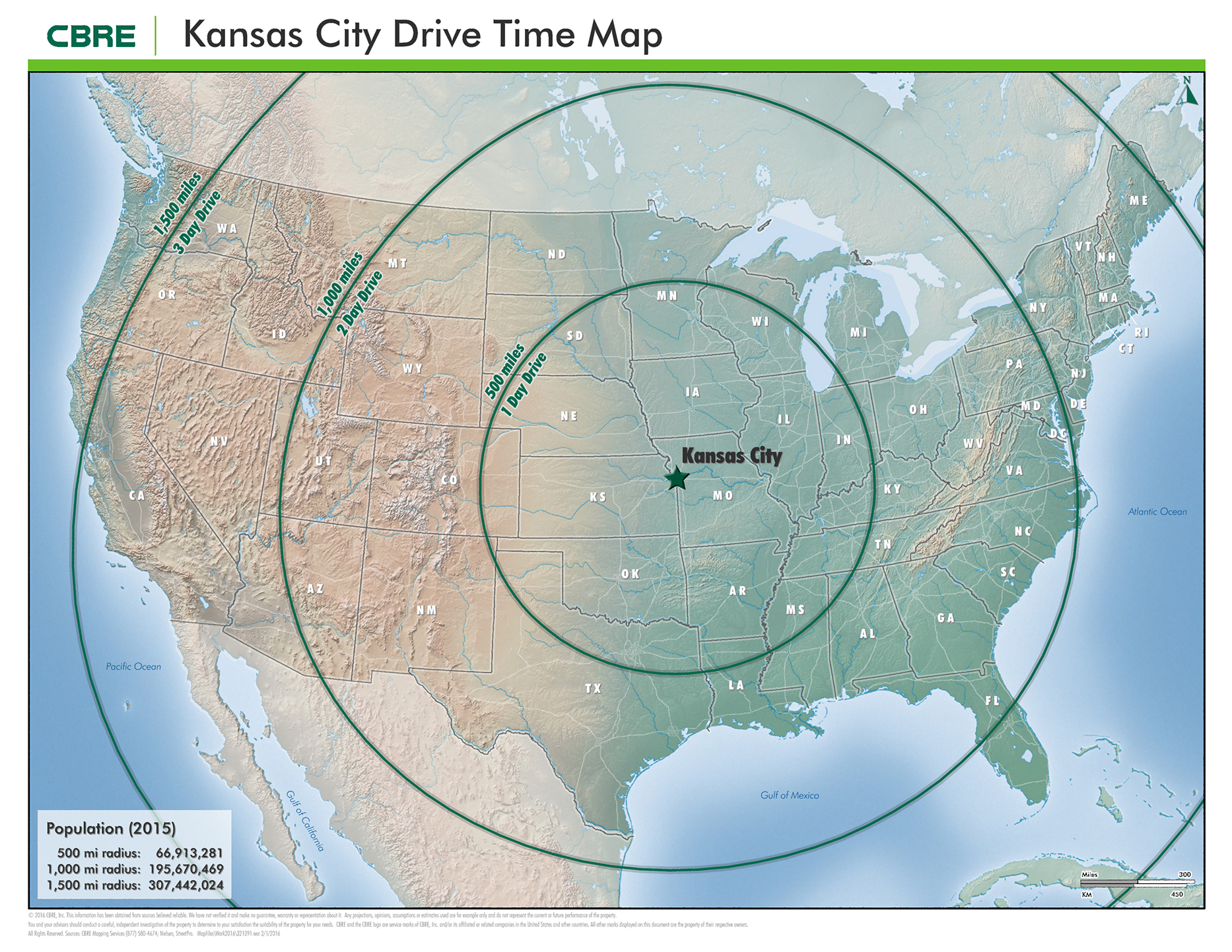 Maps & Site Plans | KCI Intermodal Business Centre Drive Time Maps on